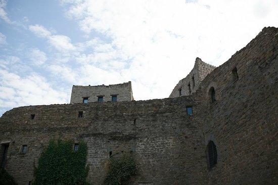 Castello di Rosciano: Parte del castello