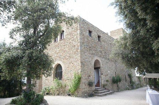 Castello di Rosciano : Vista del castello