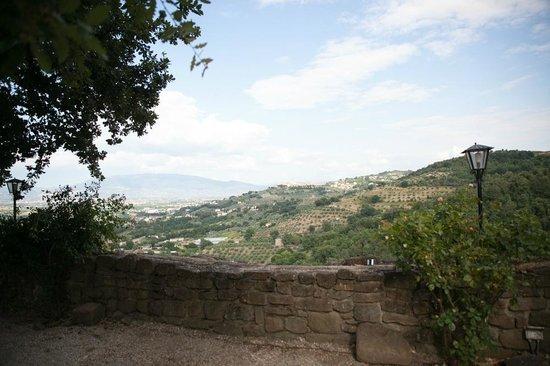 Castello di Rosciano : Panorama