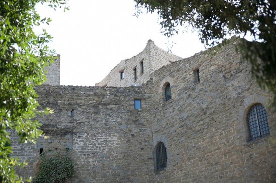 Castello di Rosciano: Vista del castello