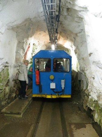 Rjukan, Norway: train