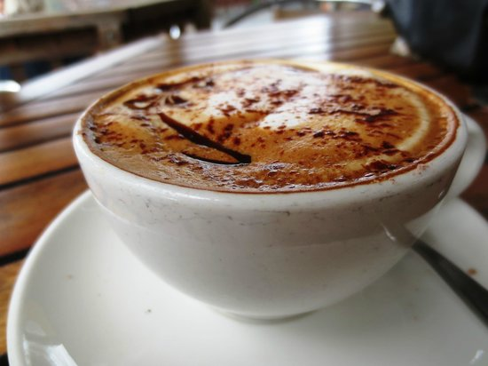 Native Tree Cafe: Cappuccino coffee