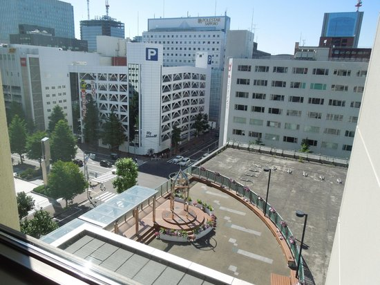 Keio Plaza Hotel Sapporo: View from 832
