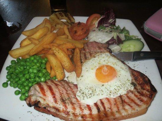The Farmhouse Restaurant: gammon