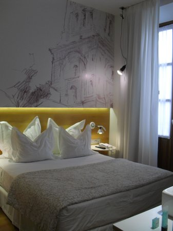 Hotel Parraga Siete: Our room