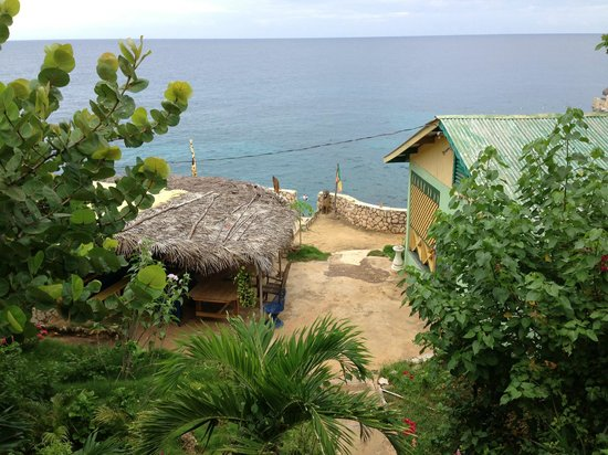 Banana Shout Resort: View from our house