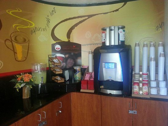 Red Roof Inn Rancho Cordova - Sacramento: coffee area