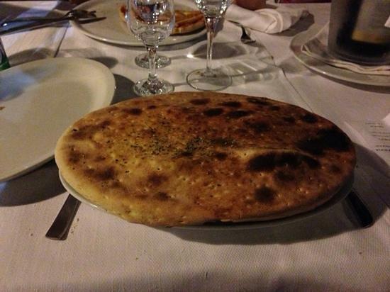 Villa Grassullo: La zuppa in crosta appena servita