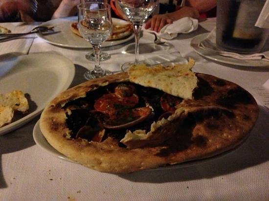 Villa Grassullo: Zuppa in crosta....si inizia
