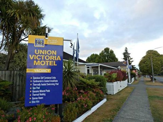 Union Victoria Motel: Located on a quiet street