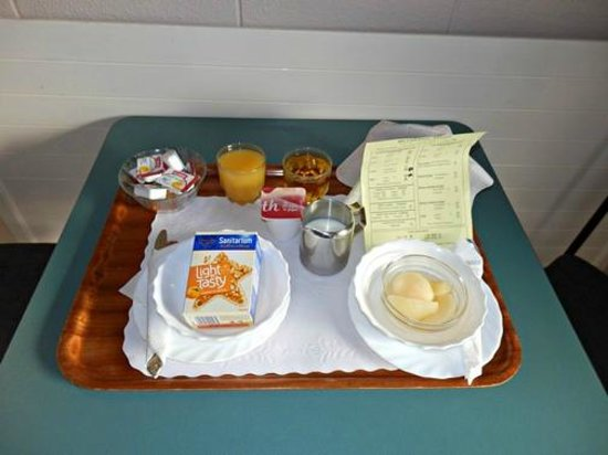 Union Victoria Motel : Complimentary continental breakfast