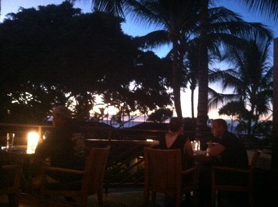 Sunset from the Hualalai Grille