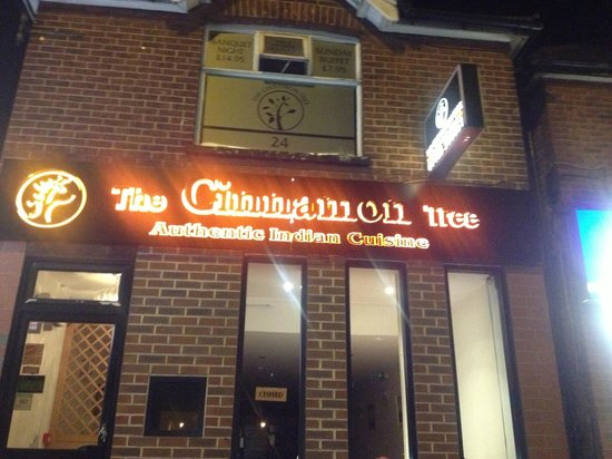 The Cinnamon Tree: front view