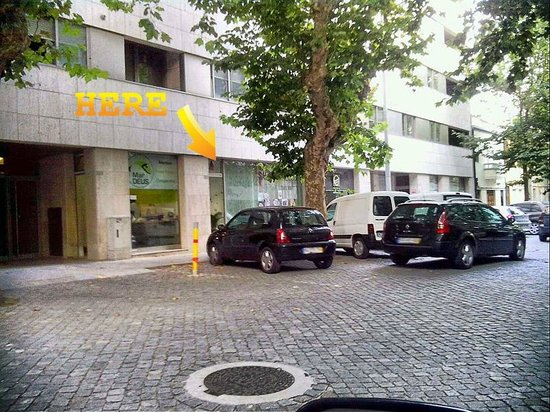 Matosinhos, Portugal : view from the street