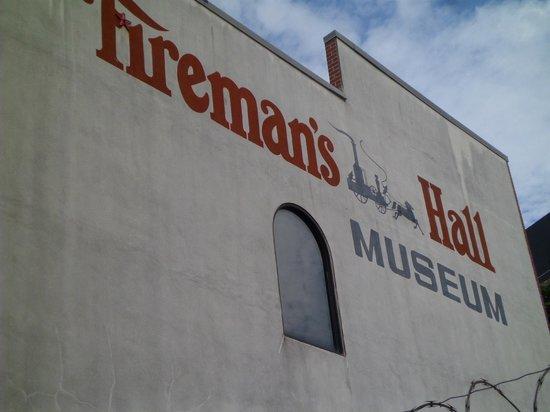 Fireman's Hall: exterior firemans hall