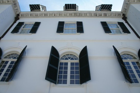 The Mount: Windows of the house