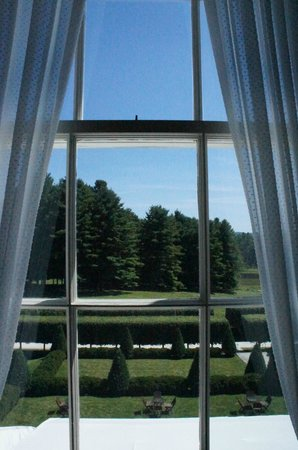 The Mount: View from Edith's bedroom