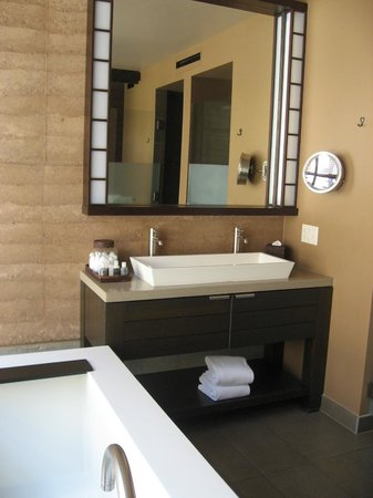 Miraval Arizona Resort & Spa : Stunning Bathroom in Palo Verde Casita