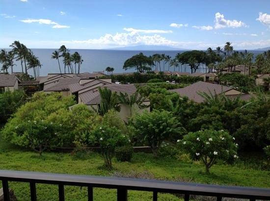 Wailea Elua Village: View from lanai.