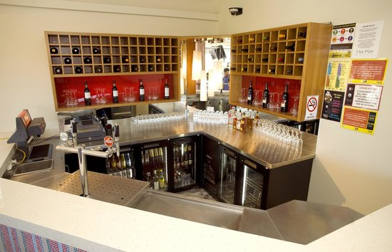 The Pier Hotel: Terrace bar available for private functions