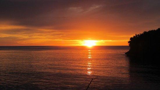 Angel Fish Cove : Beautiful sunset
