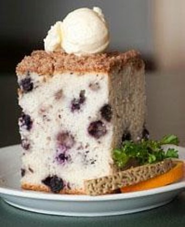 Hobee's: Don't miss the world-famous blueberry coffeecake!