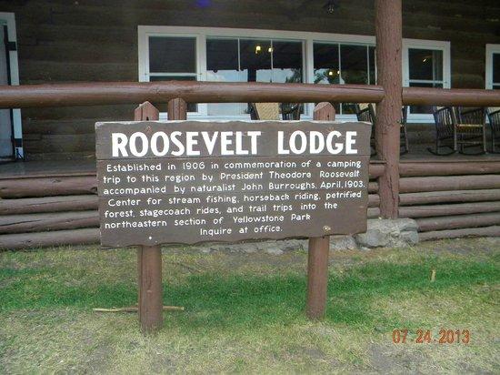 Roosevelt Lodge Dining Room : Roosevelt Lodge, northeast side of park