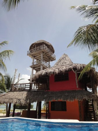 Hotel Casa Palapas del Sol : The best room with its private tower
