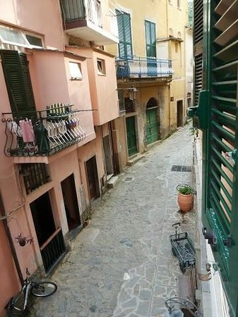 Albergo Marina : view from our window