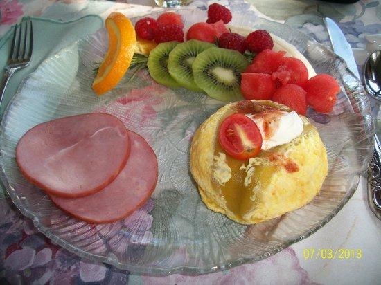 Solomons Victorian Inn: Breakfast