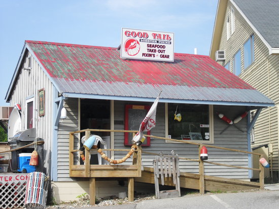 Good Tail Lobster Pound : The 'Shack'