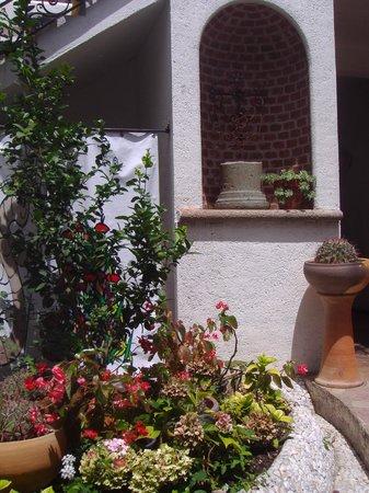 Hotel Las Mariposas: Detalles en cada rincon del hotel