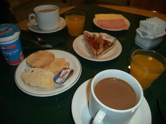 Saint Lambert : Desayuno