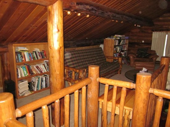 Alaska Heavenly Lodge: main lodge loft