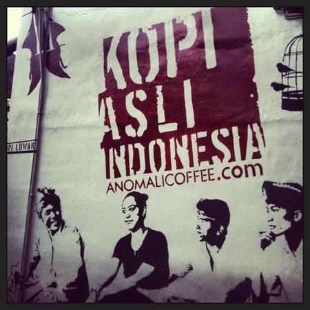 Anomali Coffee Ubud: Fab coffee