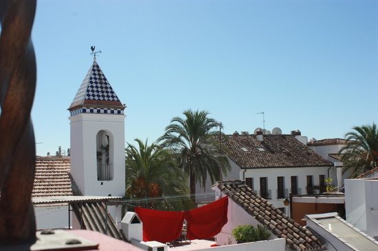 Hotel Claude Marbella : View from rooftop terrace