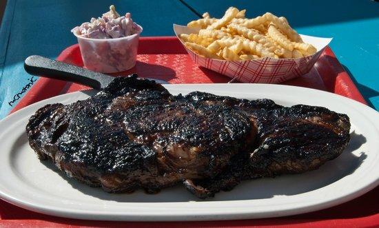 Sunset Bar & Grill: Jack Daniel's Pan Seared Ribeye