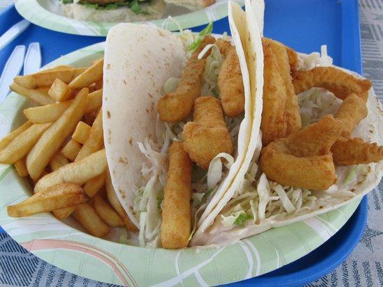 Bob Lobster: Fish Tacos !