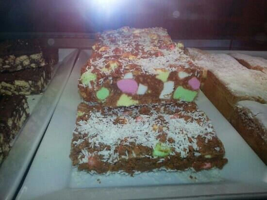 The Broadway Tearooms and Bakery: yep - this is the Lolly Cake