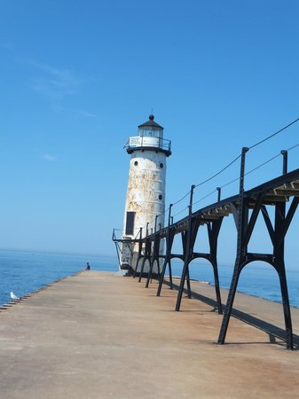 Manistee North Pierhead Lighthouse