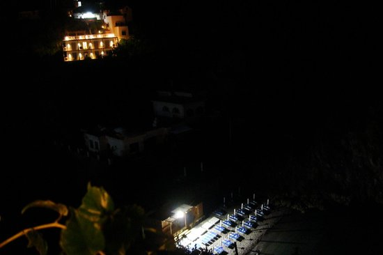 La Casa d'Amare : vista desde el balcón
