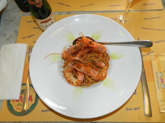 Ladokolla : Prato de camarões