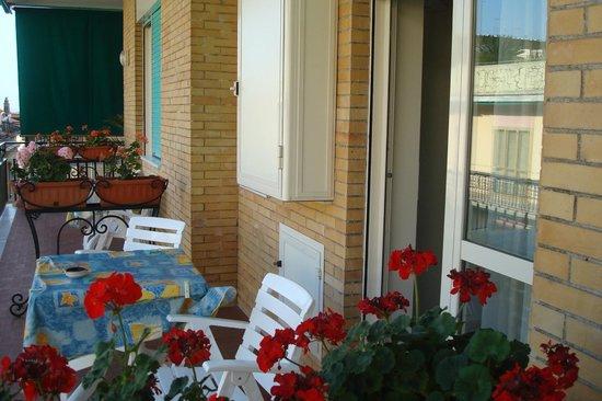 La Casa d'Amare : balcon