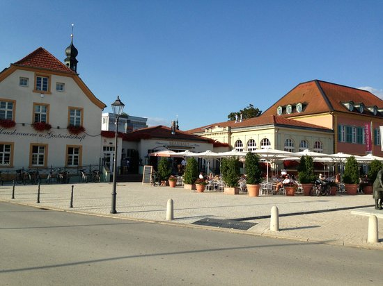 Schwetzinger Brauhaus zum Ritter: Exterior view of restaurant
