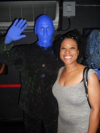 Blue Man Group : Blue Man