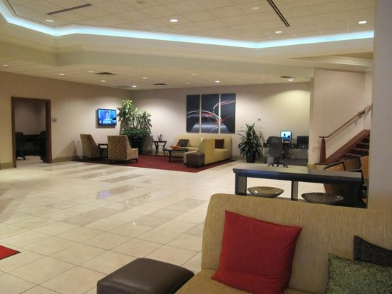 Pittsburgh Marriott City Center : The lobby on the ground floor