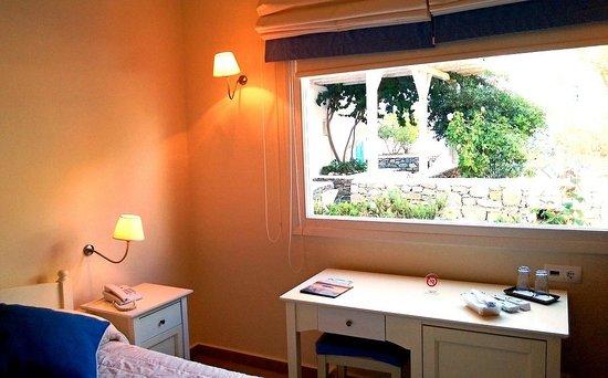 Vencia Hotel: Room with garden view