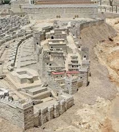 City of David Segway: Maquete Antiga Jerusalem