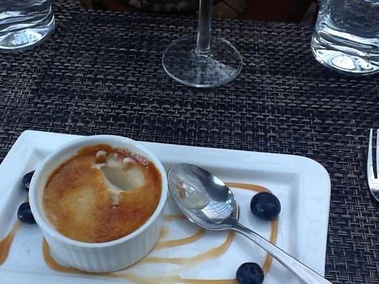 Loondocks Restaurant: creme brulee