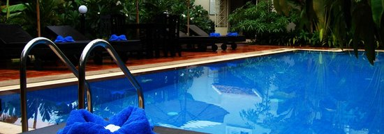 Siem Reap Evergreen Hotel: Outdoor Pool